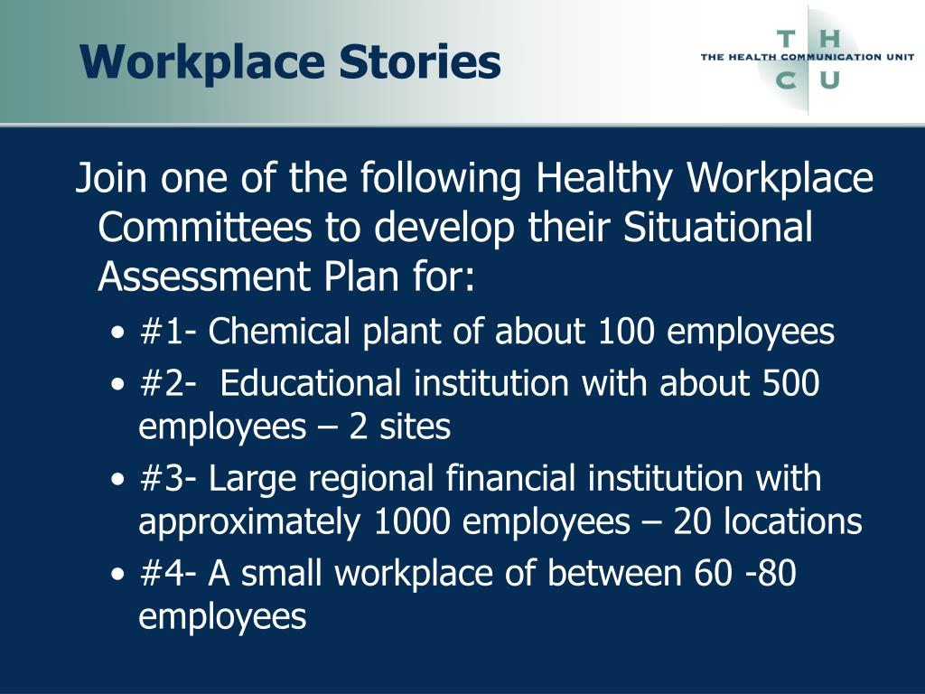 Workplace Stories