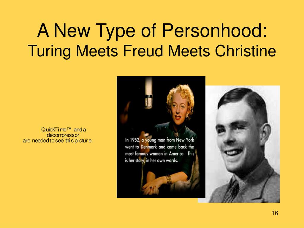 A New Type of Personhood:
