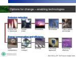 options for change enabling technologies2