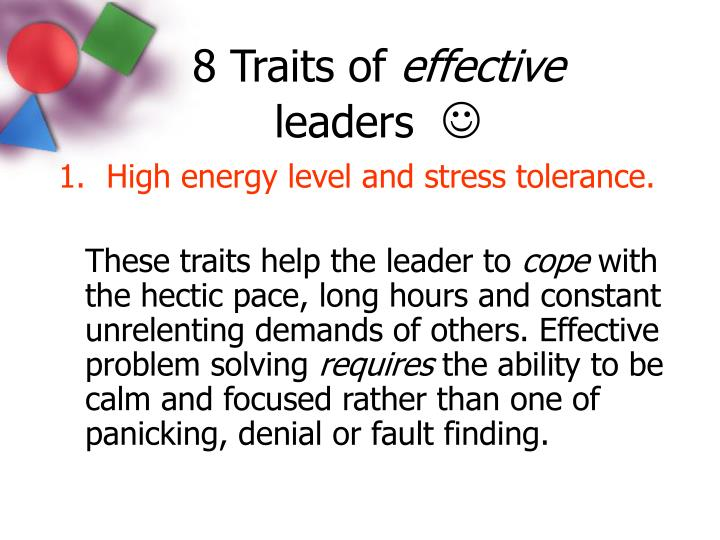 six traits of effective writing