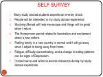 self survey