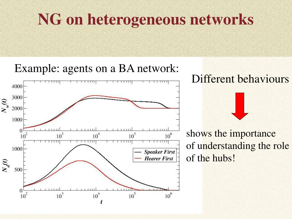 NG on heterogeneous networks