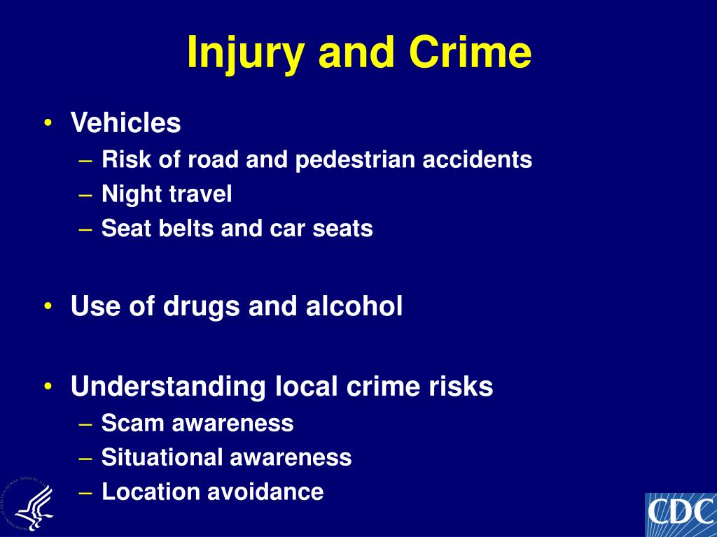 Injury and Crime