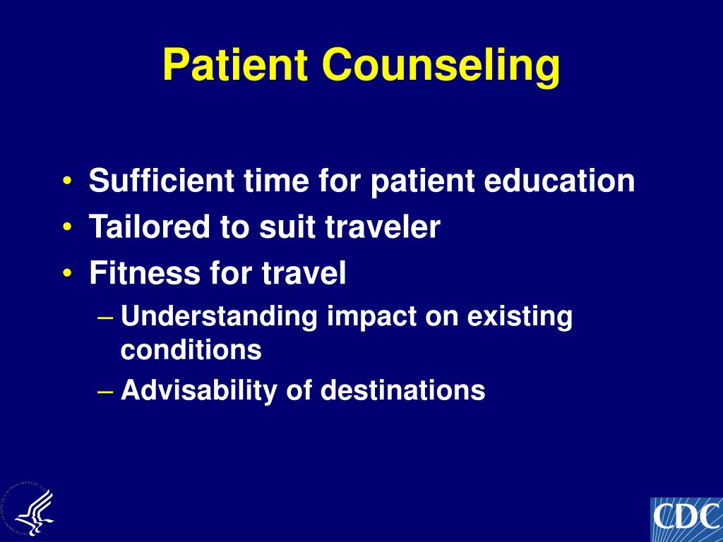 Patient Counseling
