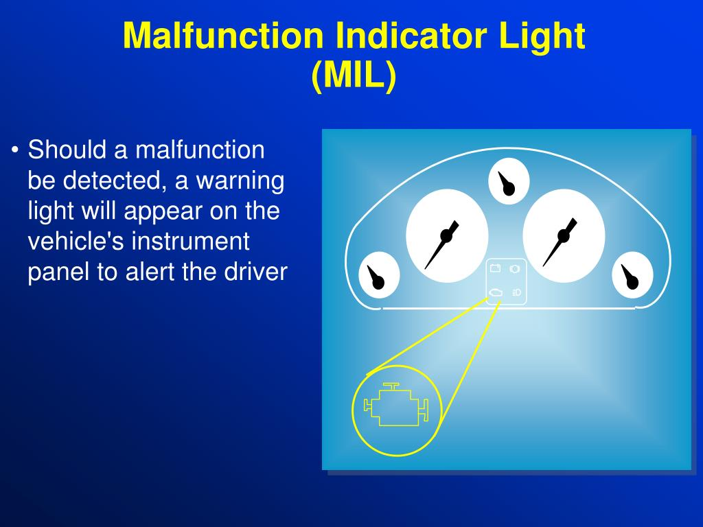 Malfunction Indicator Light (MIL)
