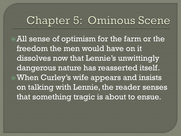 Chapter 5 ominous scene