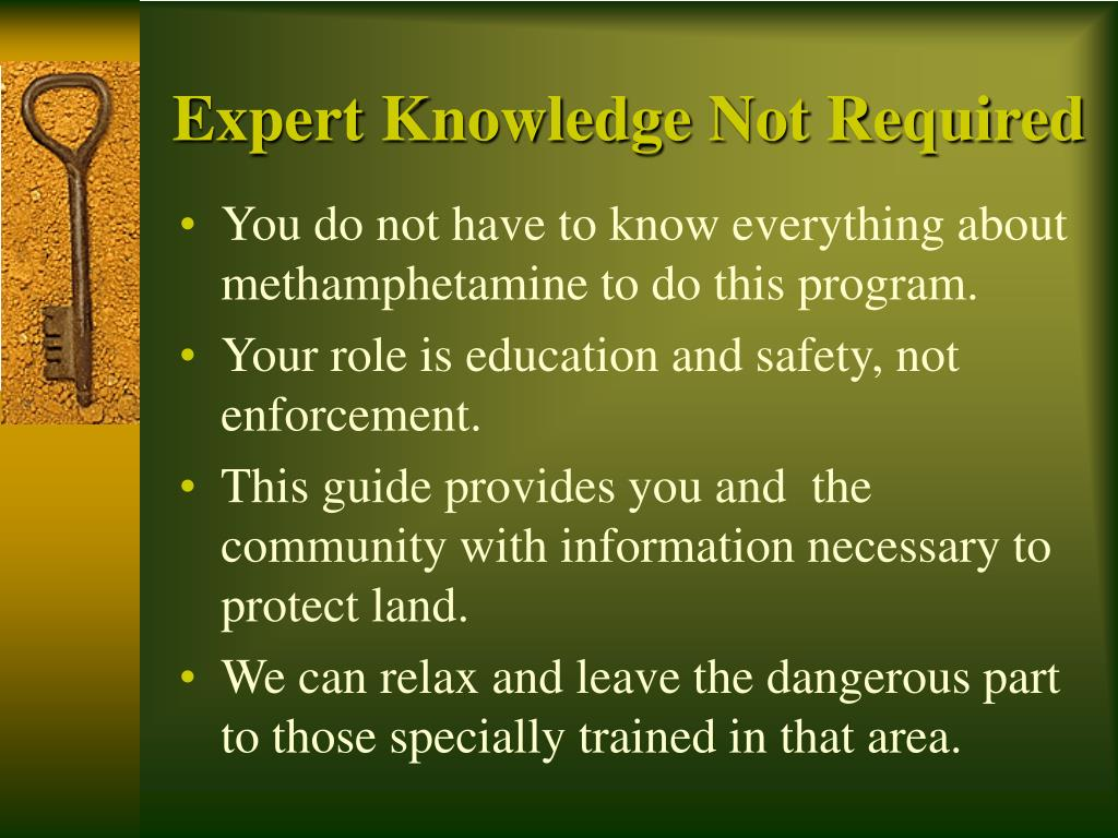 Expert Knowledge Not Required