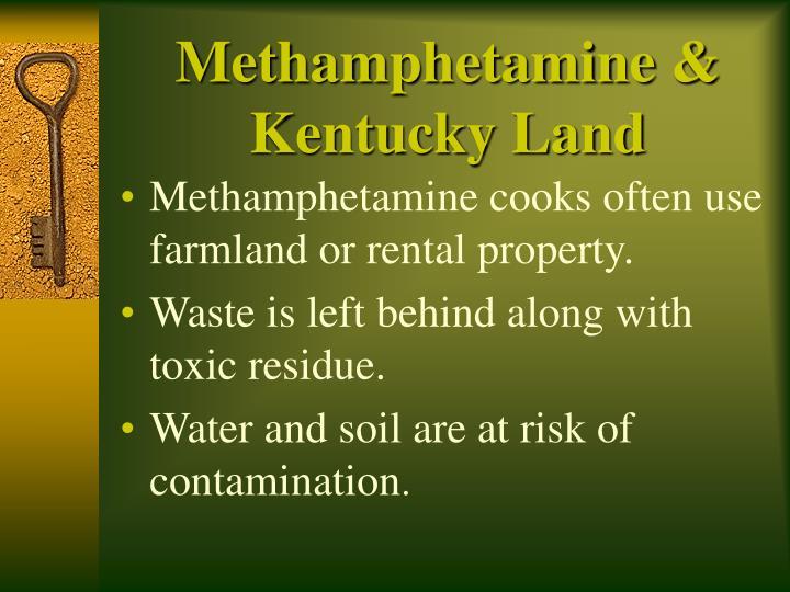 Methamphetamine kentucky land