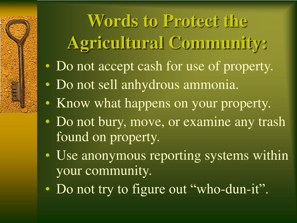 Words to Protect the