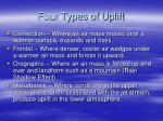 four types of uplift