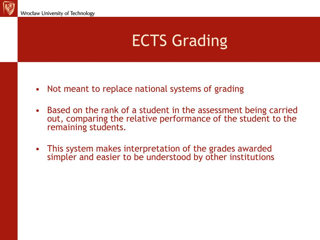ECTS Grading