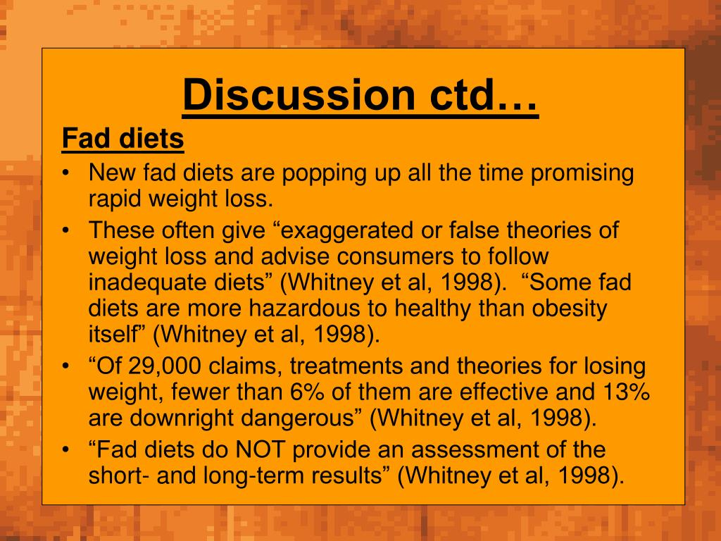 Discussion ctd…
