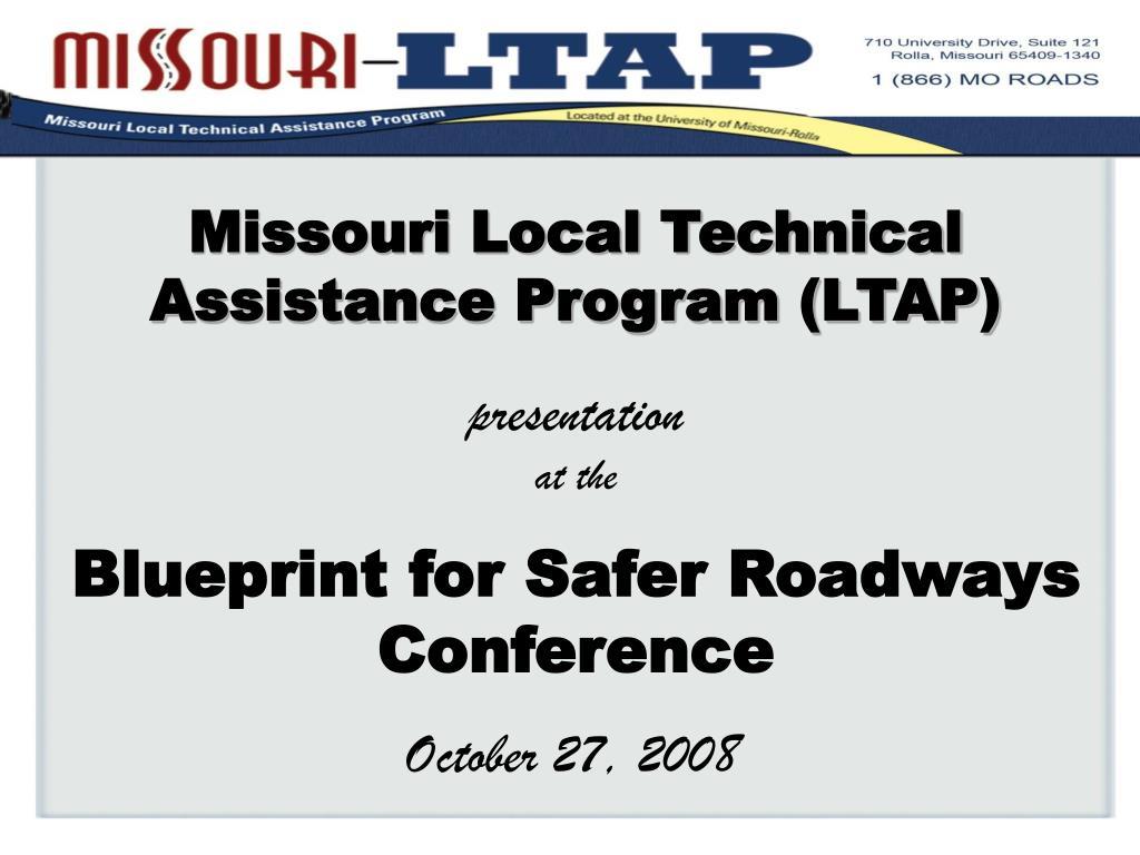 Missouri Local Technical Assistance Program (LTAP)