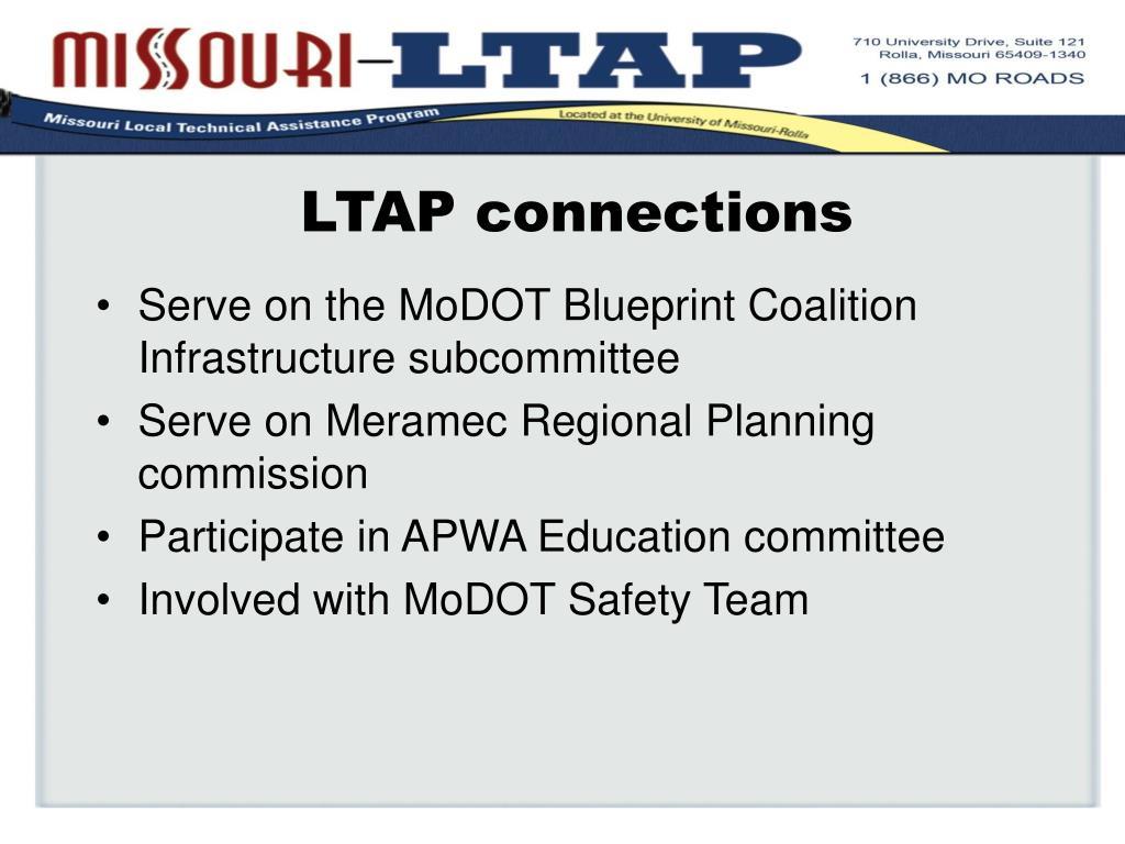LTAP connections