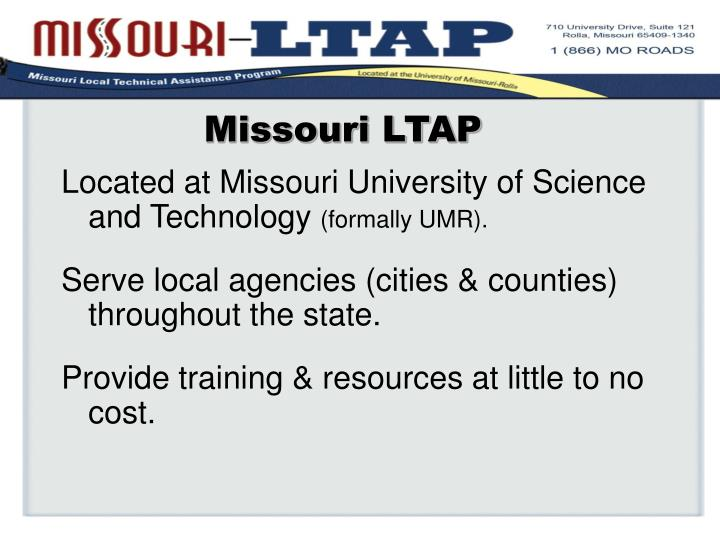 Missouri LTAP