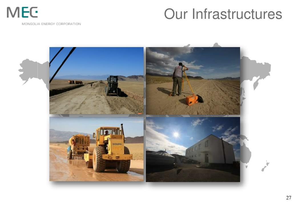 Our Infrastructures