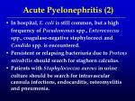 acute pyelonephritis 2