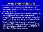 acute pyelonephritis 5