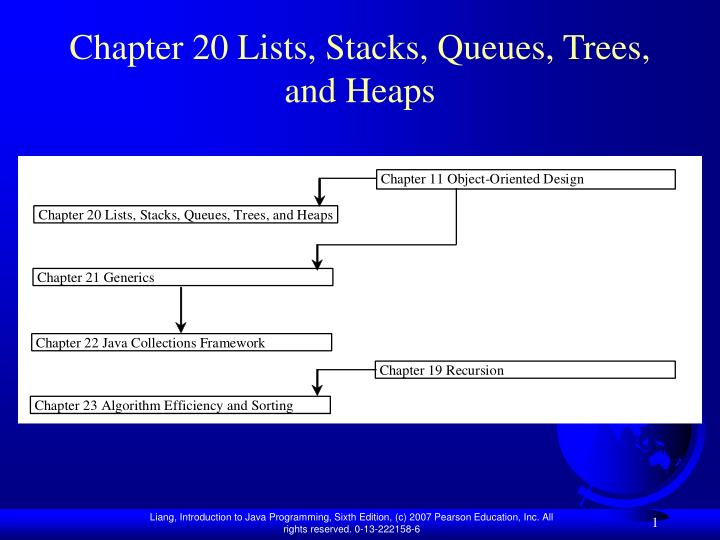 chapter 20 lists stacks queues trees and heaps n.