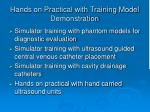 hands on practical with training model demonstration