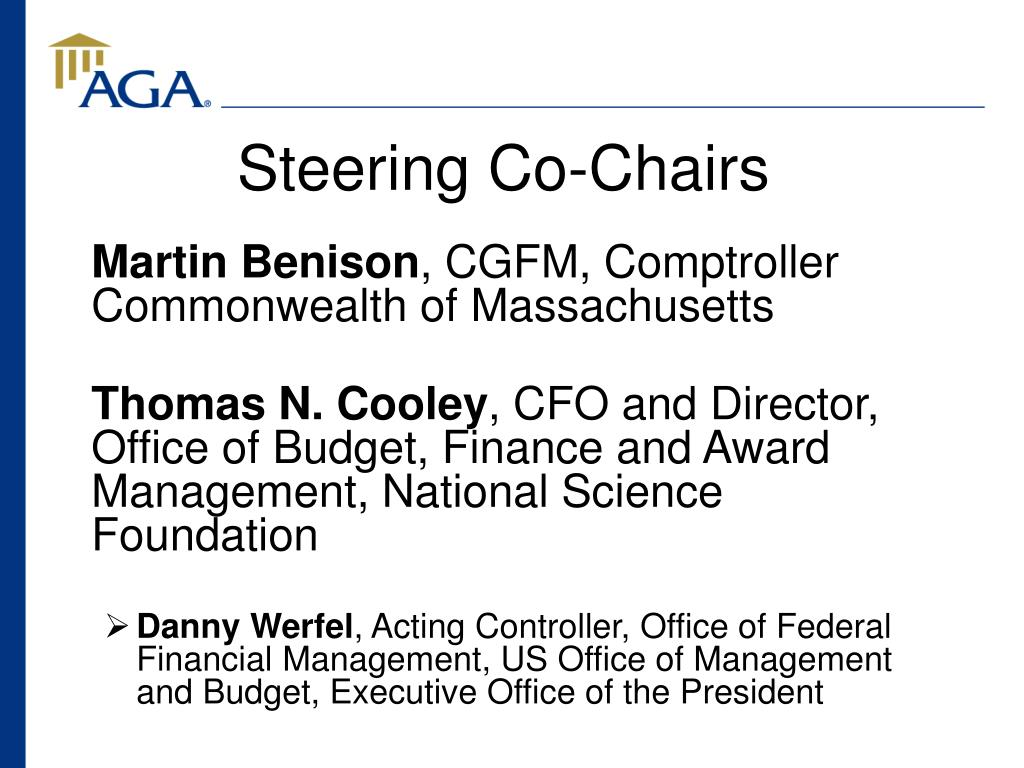 Steering Co-Chairs