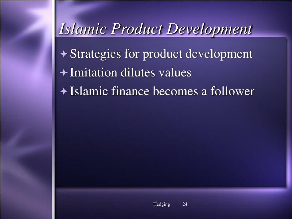 Islamic Product Development