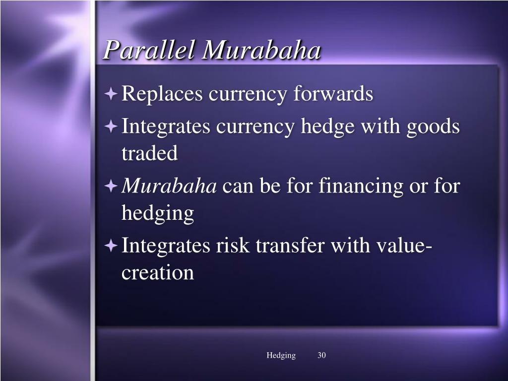 Parallel Murabaha
