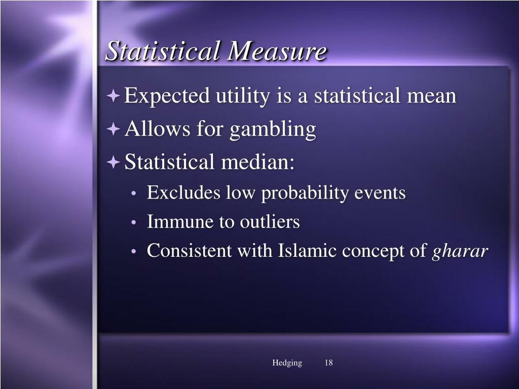 Statistical Measure
