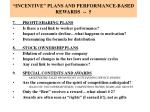 incentive plans and performance based rewards 5