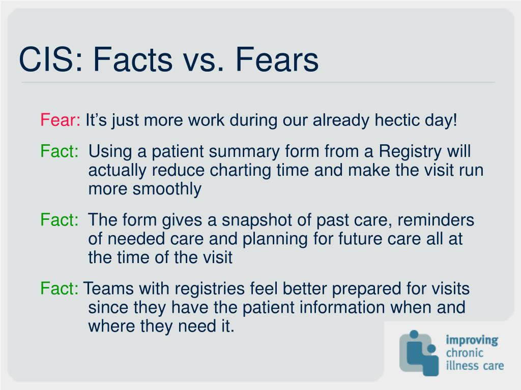 CIS: Facts vs. Fears