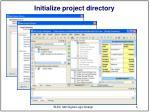 initialize project directory