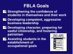 fbla goals
