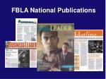 fbla national publications