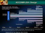 accomplish design