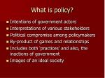 what is policy3