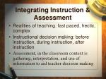 integrating instruction assessment