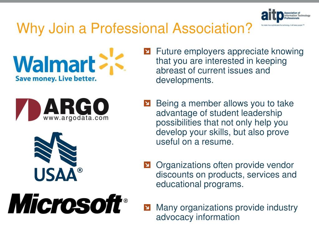 Why Join a Professional Association?