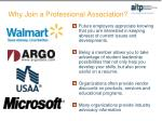 why join a professional association4