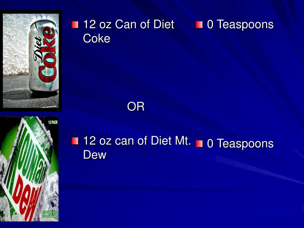 12 oz Can of Diet Coke