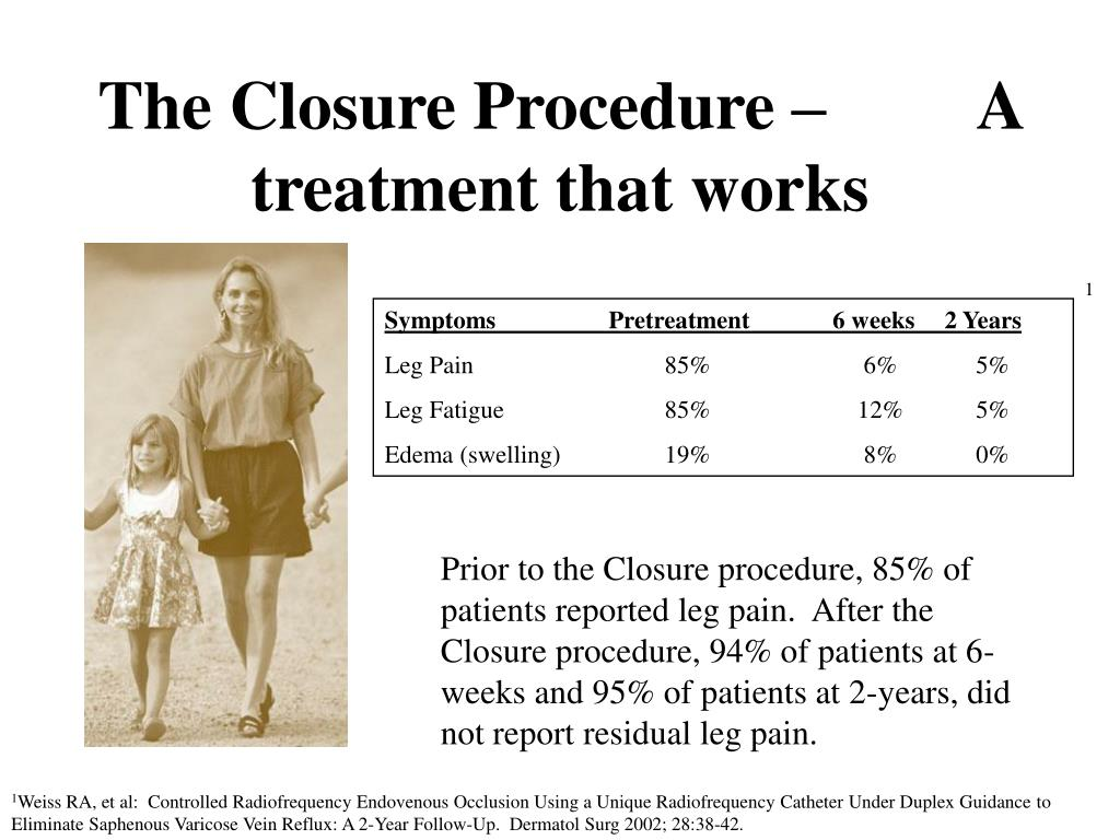 The Closure Procedure –         A treatment that works