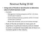 revenue ruling 59 606