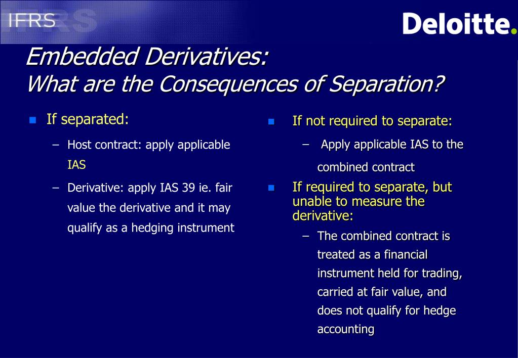 If separated: