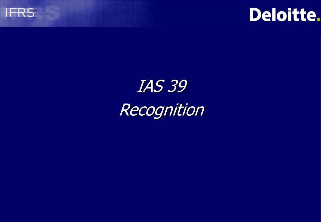 IAS 39
