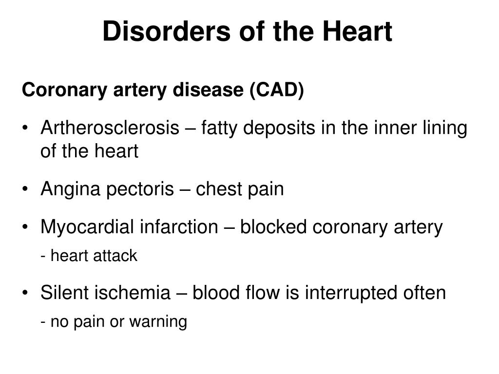 Disorders of the Heart