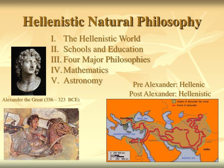 Hellenistic natural philosophy