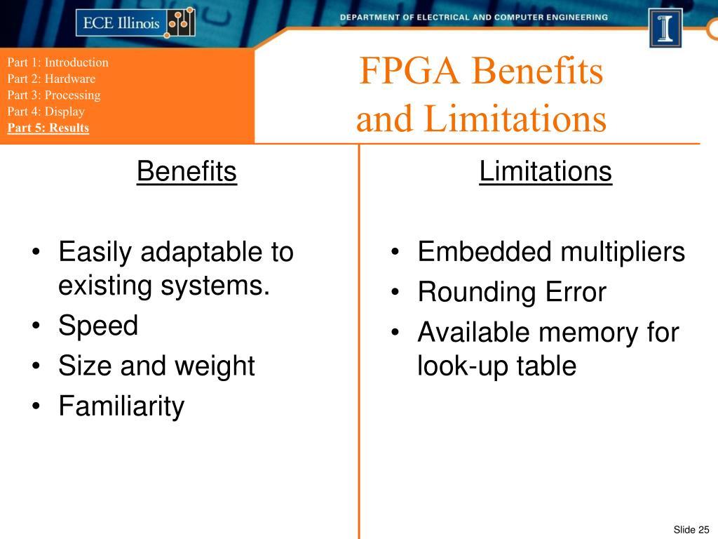 FPGA Benefits