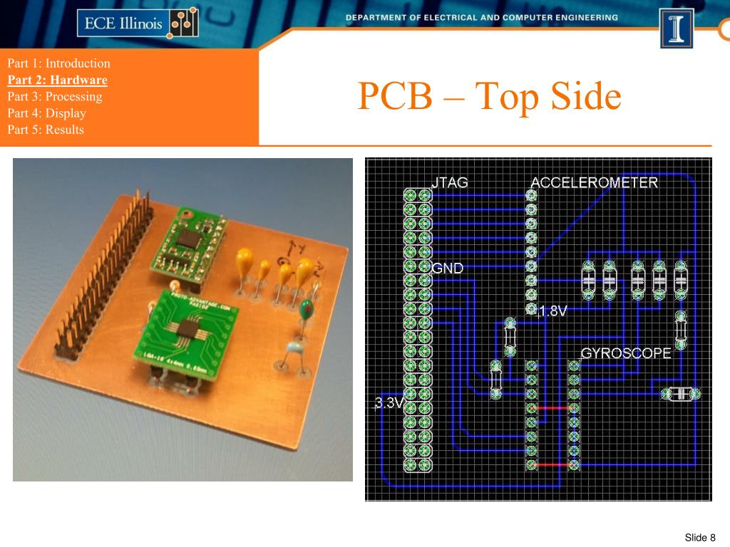 PCB – Top Side