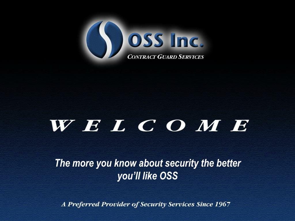 the more you know about security the better you ll like oss