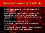 signs and symptoms of heat stroke27