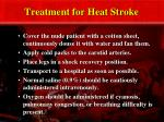 treatment for heat stroke29